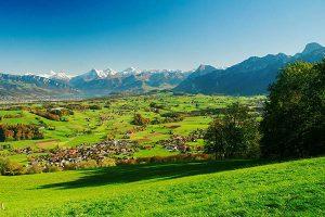 Wattenwil-Eiger-Moench-Jungfrau